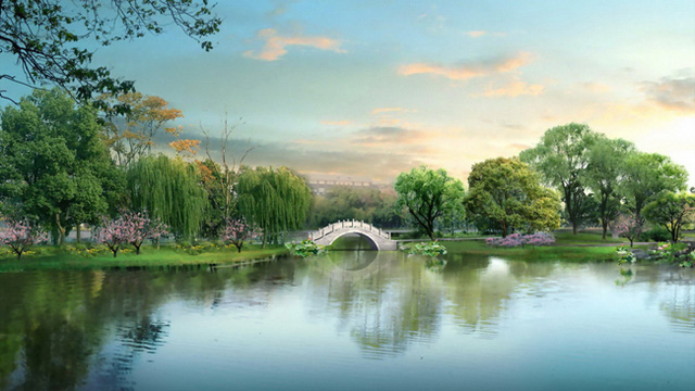 Cảnh đẹp của Hồ Châu
