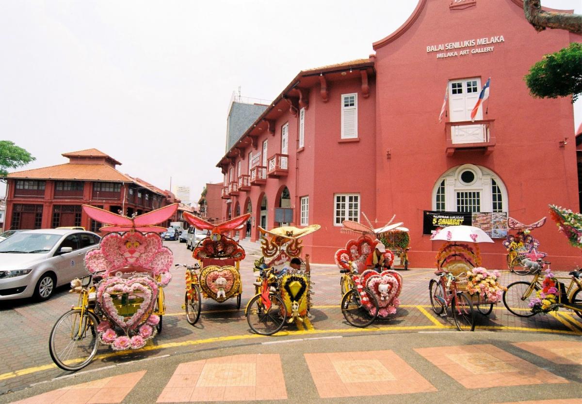 đến thành phố cổ Malacca