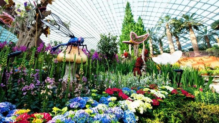 Vườn thực vật Garden by the Bay