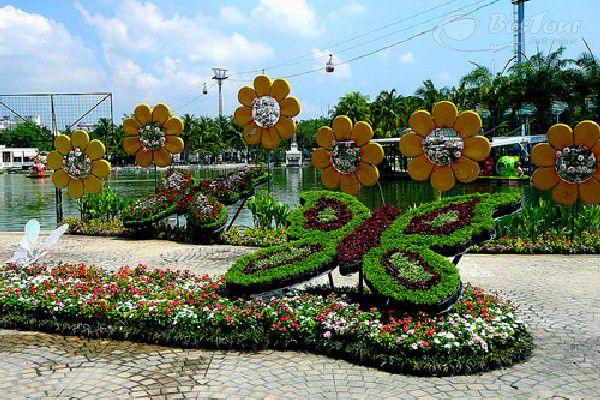 VƯỜN BƯỚM SAITHIP (Butterfly Garden)