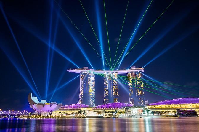 Singapore đẹp lung linh vào buổi đêm