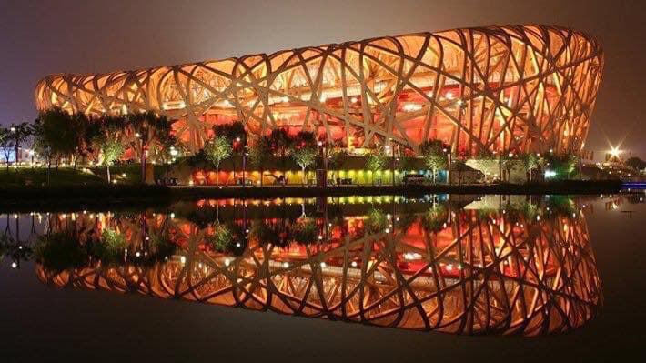 Sân vận động Tổ chim hiện đại lộng lẫy