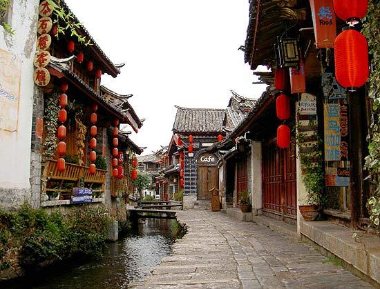 Thành cổ Lệ Giang đã hơn 800 năm tuổi