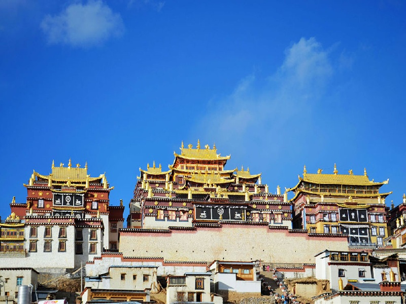 Tu viện Phật giáo Tây Tạng lớn nhất tại vùng Vân Nam