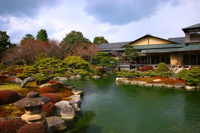 Một góc khu vườn Nhật Yushien