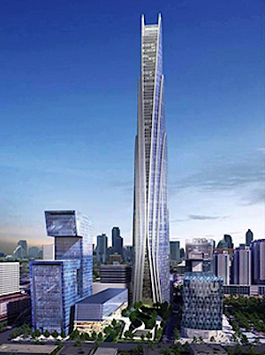 Thưởng thức hàng trăm món ăn ngon trên tòa nhà cao 86 tầng
